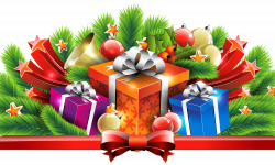 Christmas Presents Clipart - clipart