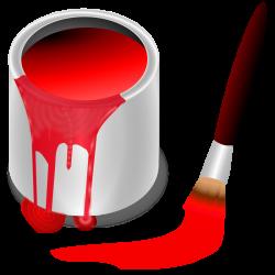 Free Clipart: Color bucket red | KNK: Allerlei | Pinterest | School