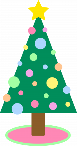Christmas colors clipart collection