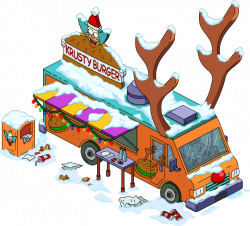 Reindeer Burger Truck | The Simpsons: Tapped Out Wiki | FANDOM ...