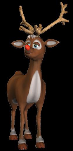 Rudolf 3D PNG Clipart | Christmas Clip Art 2 | Pinterest | 3d ...