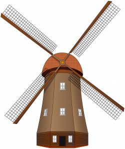 Windmill Silhouette Clip Art at GetDrawings.com | Free for personal ...