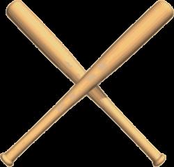 Crossed Baseball Bat Clipart | Clipart Panda - Free Clipart Images