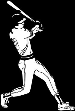 Baseball | Free Stock Photo | Illustration of a baseball batter | # 4878