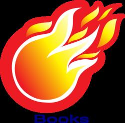 Fire Ball Books Clip Art at Clker.com - vector clip art online ...