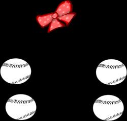 Girl Softball Skull Clip Art at Clker.com - vector clip art online ...