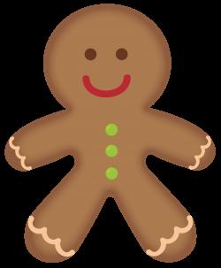 Gingerbread man gingerbread men clipart web clipart - Clipartix ...
