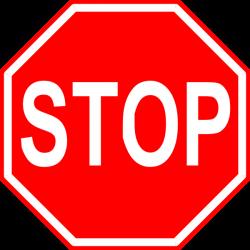 Stop Sign Clip Art Microsoft | Clipart Panda - Free Clipart Images