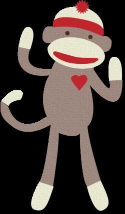 sock monkey clipart - Google Search | autism | Pinterest | Monkey ...