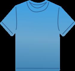 T-shirt | Free Stock Photo | Illustration of a blank blue t-shirt ...
