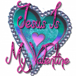 Christian Images In My Treasure Box: Jesus Is My Valentine ClipArt
