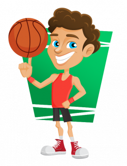 28+ Collection of Basketball Players Clipart Png | High quality ...