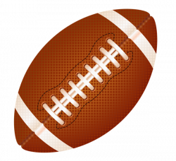 American Football Ball Clipart PNG Image - PurePNG | Free ...