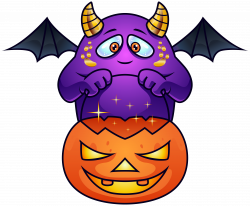 Best Halloween Monster Pictures Purple PNG Clipart Image Gallery ...