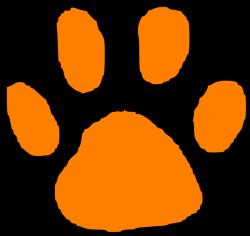 Tiger Paw Print Stencil - ClipArt Best | baby | Pinterest | Tigers ...