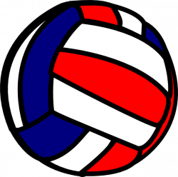 28+ Collection of Blue Volleyball Clipart | High quality, free ...