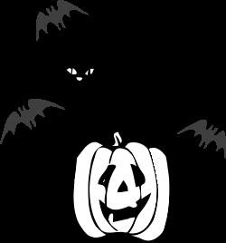 Clipart - Architetto Gatto nero (Black Cat Halloween)