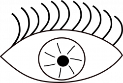 Eye Clip Art Black And White | Clipart Panda - Free Clipart Images