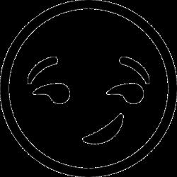 Resultado de imagen para clipart smiley face black and white   emoji ...