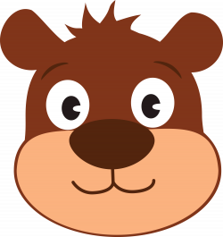 Bear Face Clipart at GetDrawings.com | Free for personal use Bear ...