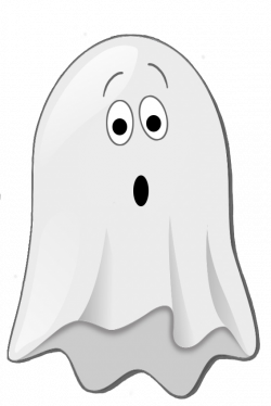 scared little ghost clip art | I love HALLOWEEN! | Pinterest | Clip ...