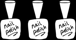 Nail Polish Coloring Page Free Clip Art | Salon - Nail Polish Images ...