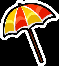 Beach Umbrella Pin | Club Penguin Wiki | FANDOM powered by Wikia