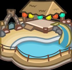 Beach Party Igloo | Club Penguin Wiki | FANDOM powered by Wikia