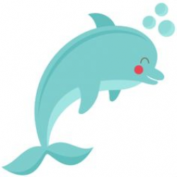 Dolphin clipart cute - Clip Art Library