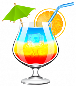 Summer Cocktail Transparent PNG Clip Art Image | Modelos | Pinterest ...