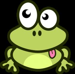 Cartoon Frog Clip Art | Frog Cartoon clip art - vector clip art ...