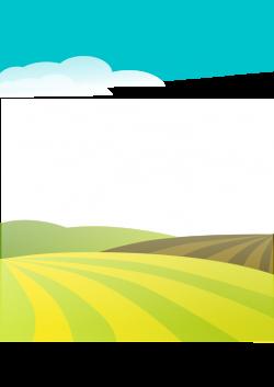 Public Domain Clip Art Image | Illustration of a landscape | ID ...