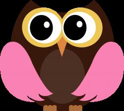 Pinterest Owl Whimsical Clip Art - Modern Clipart •