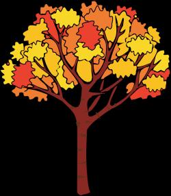 free fall trees clip art | Fall Tree Clip Art | Tin Pedlar Maine ...
