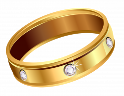 Transparent Gold Ring with Diamonds PNG Clipart | Gallery ...