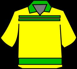 Club Shirt Yellow Clip Art at Clker.com - vector clip art online ...