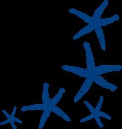 Starfish Prints clip art - vector clip art online, royalty free ...