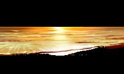 Sea Sunset Ground PNG Clipart | ClipArt | Pinterest | Sunset ...