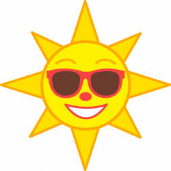 Sunshine-sun-clip-art-free-clipart-images-3.png (5590×5601) | Beach ...