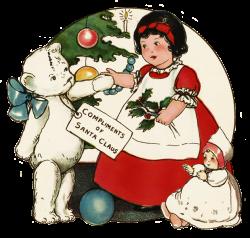 Charming Vintage Christmas Clip Art
