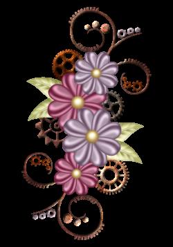FLORAL | FRAMES / BORDERS / CORNERS | Pinterest | Floral, Clip art ...