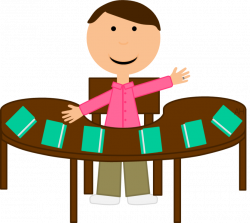 28+ Collection of Teacher Reading Table Clipart | High quality, free ...