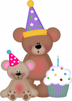 Cupcake clipart teddy bear - Pencil and in color cupcake clipart ...