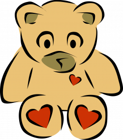 4 Teddy Bear Clipart Free Stuffed Toys Vector Graphics | Just Free ...