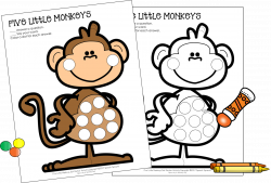 Best-Ever Books for Preschool Speech Therapy: Five Little Monkeys ...