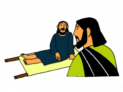 Man Lowered Through the Roof – Mission Bible Class