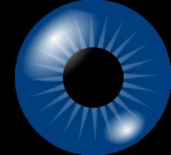 Cartoon Eyes | Dark Blue Eye clip art - vector clip art online ...