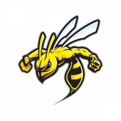 Printed vinyl Wasp Hornet Stinger Attack | Stickers Factory