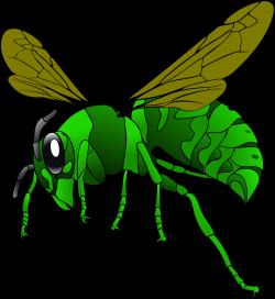 Clipart - Green Hornet