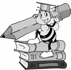 28+ Collection of Spelling Bee Clipart Black And White   High ...